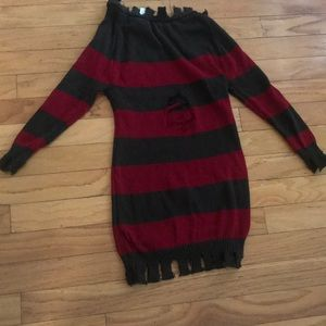 Sweaters - Freddy Krueger sweater dress